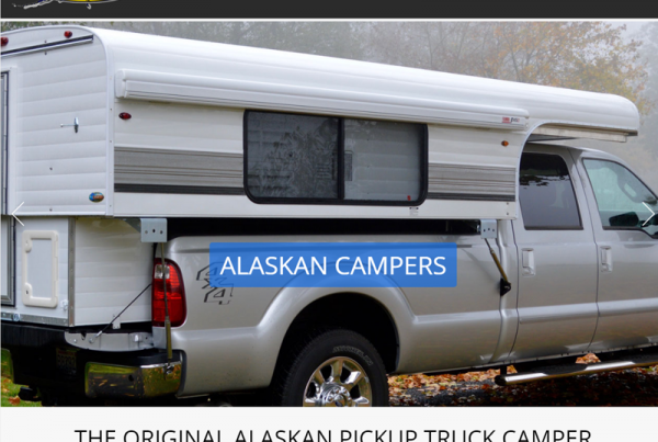 AK Campers Web Design